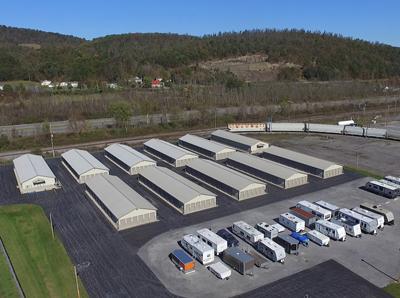 Valley Mini Storage - Aerial View